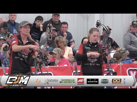 Women's Pro 2021 NFAA Indoor nationals shoot-off